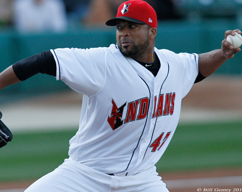 Francisco Liriano struck out 23 batters with just one walk for the Tribe.