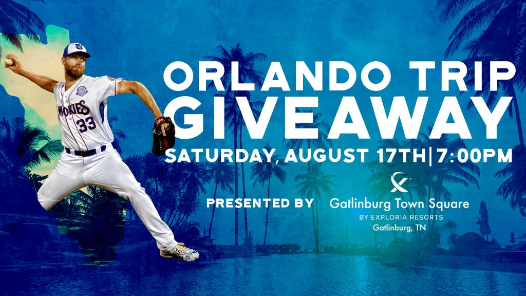orlando trip giveaway media wall