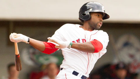 Jackie Bradley Jr. is hitting .310 in 29 games for Pawtucket this year.