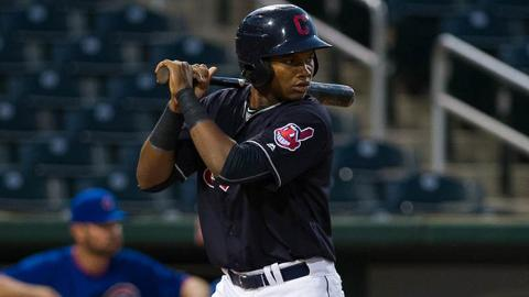 Oscar Gonzalez led the Rookie-level Arizona League in slugging and tied for first in homers last season.