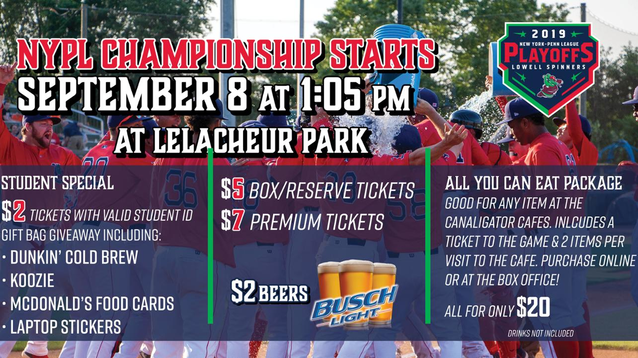 Purchase tickets to game three of the playoffs here!