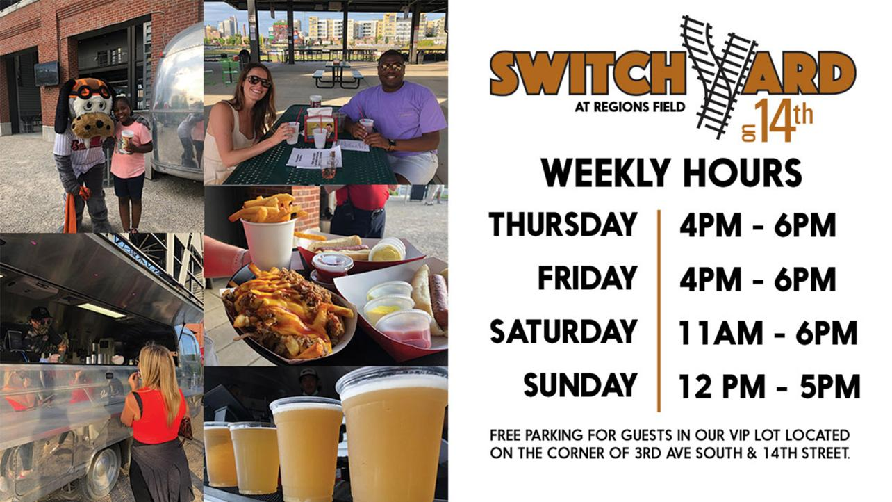 SwitchYard at Regions Field