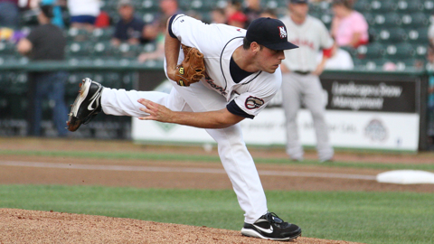 Sean Nolin could begin the 2013 season with the Fisher Cats.