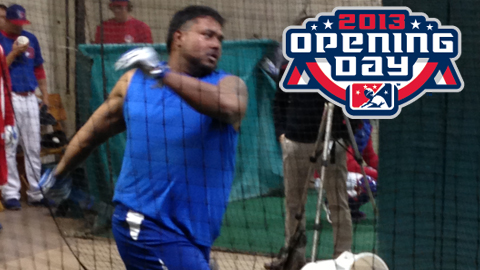 Slugger Luis Jimenez will bat cleanup for the Herd on Opening Day