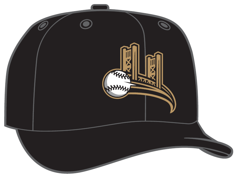 f9a0036c2763c Bookending those two are a lead alternate featuring a cat s paw palming a  baseball in water and a Diamond Era gray cap ...