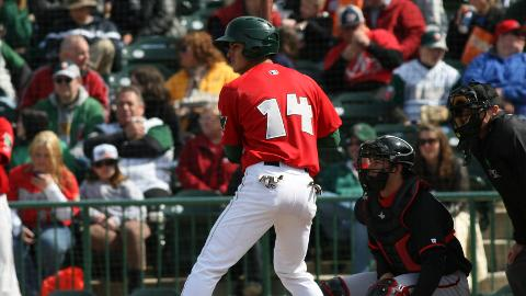 Alberth Martinez has hit a home run in three consecutive games for the TinCaps.