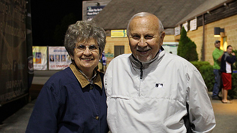 MWL president George Spelius and his wife, Nancy.