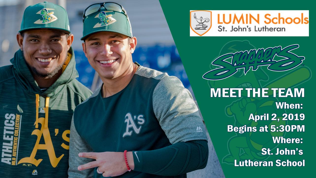 Mark your Calendars for the Beloit Snappers Meet the Team