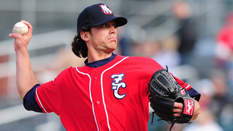 Alan Farina pitched at Double-A in 2011 before his demotion in '12.