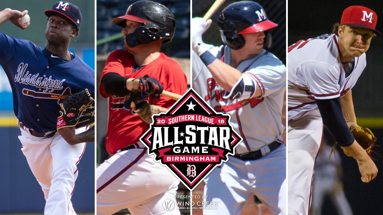 four m-braves selected as southern league all-stars | mississippi
