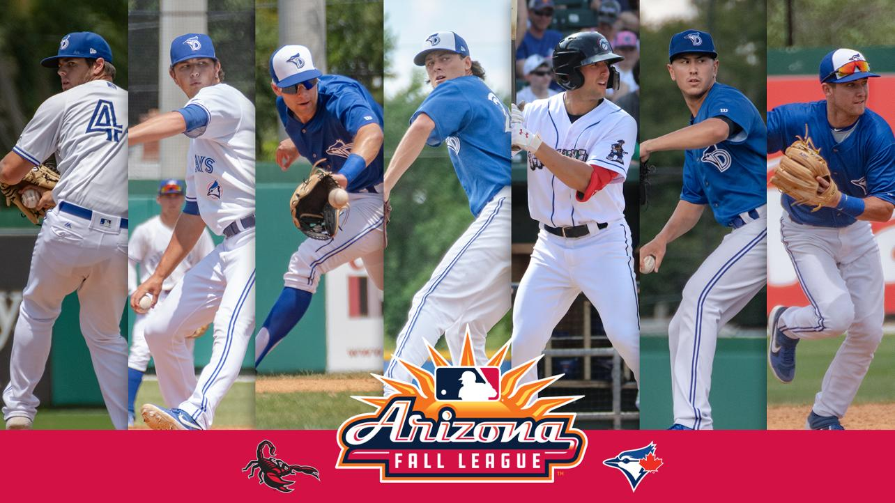 Seven Former Dunedin Blue Jays selected to Arizona Fall League