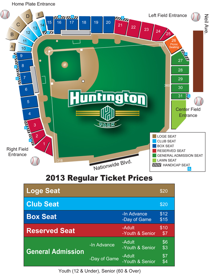 Huntington Park Seating Map Related Keywords Suggestions