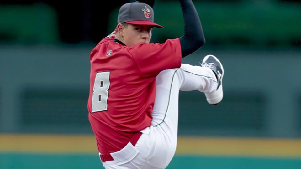 ba9dfdecce656 MacKenzie Gore has struck out 44 batters over 29 1 3 career innings in the Minor  Leagues. (Fort Wayne TinCaps)