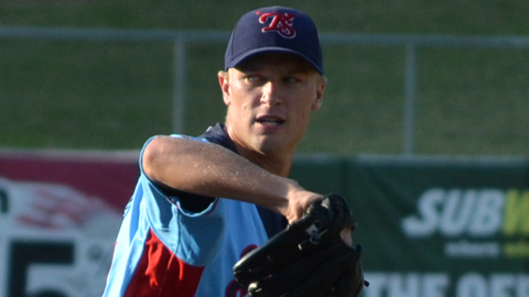 Eric Jokisch pitched a no-hitter against Jacksonville on Aug. 6.
