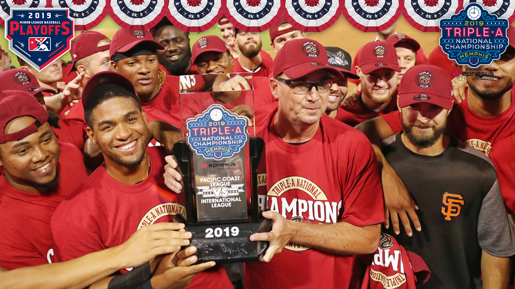 River Cats add Triple-A championship to PCL title