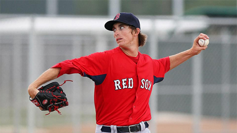 Henry Owens has not allowed a hit in his past 15 2/3 innings.