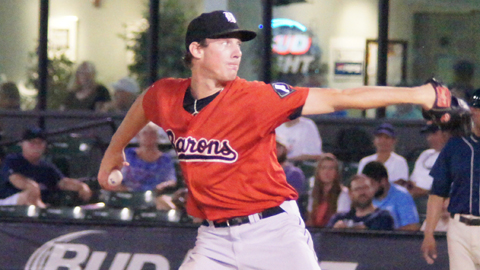 Chris Bassitt went 4-2 with a 2.27 ERA for Birmingham this year.