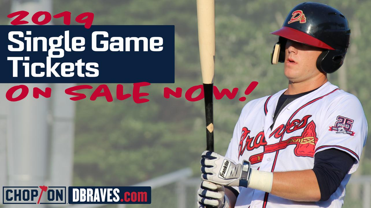 Single Game Tickets On Sale