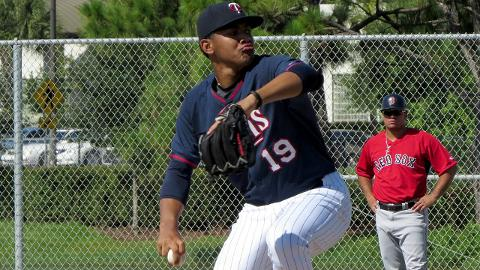 Huascar Ynoa has struck out 121 batters over 133 1/3 innings during his three seasons in the Minor Leagues.