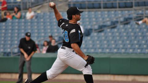 Danny Rosenbaum tossed seven innings in a losing effort