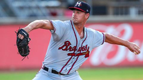 Kyle Muller is 10-2 with a 2.94 ERA in 23 starts across three Minor League levels this season.