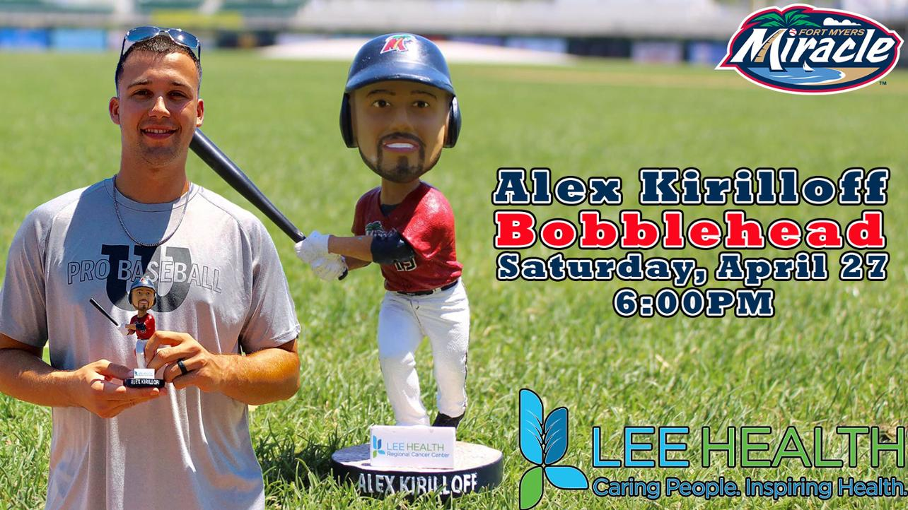 Alex Kirilloff Bobblehead Saturday, April 27th