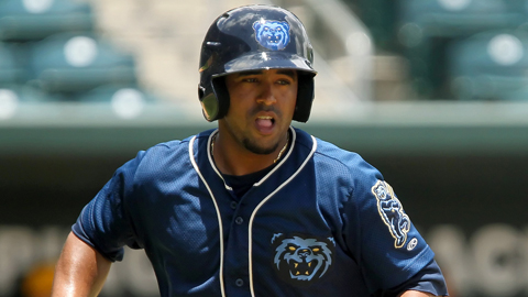Raywilly Gomez is batting .375 with six RBIs in six playoff games.