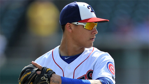 Javier Baez hit 37 homers in 517 at-bats across two levels this year.