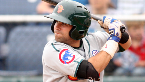 Rafael Lopez is hitting .306 with four homers in 41 games with Boise.