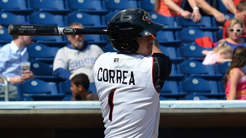 Carlos Correa is batting .419 (26-for-62) in August.