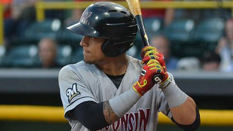 Isan Diaz ranked among the Midwest League leaders in six offensive categories.