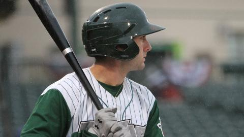 Jeremy Baltz hit his team-best fourth home run of the season during Tuesday's loss.