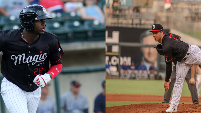Robert, Tomshaw Named White Sox MiLB Players of the Month