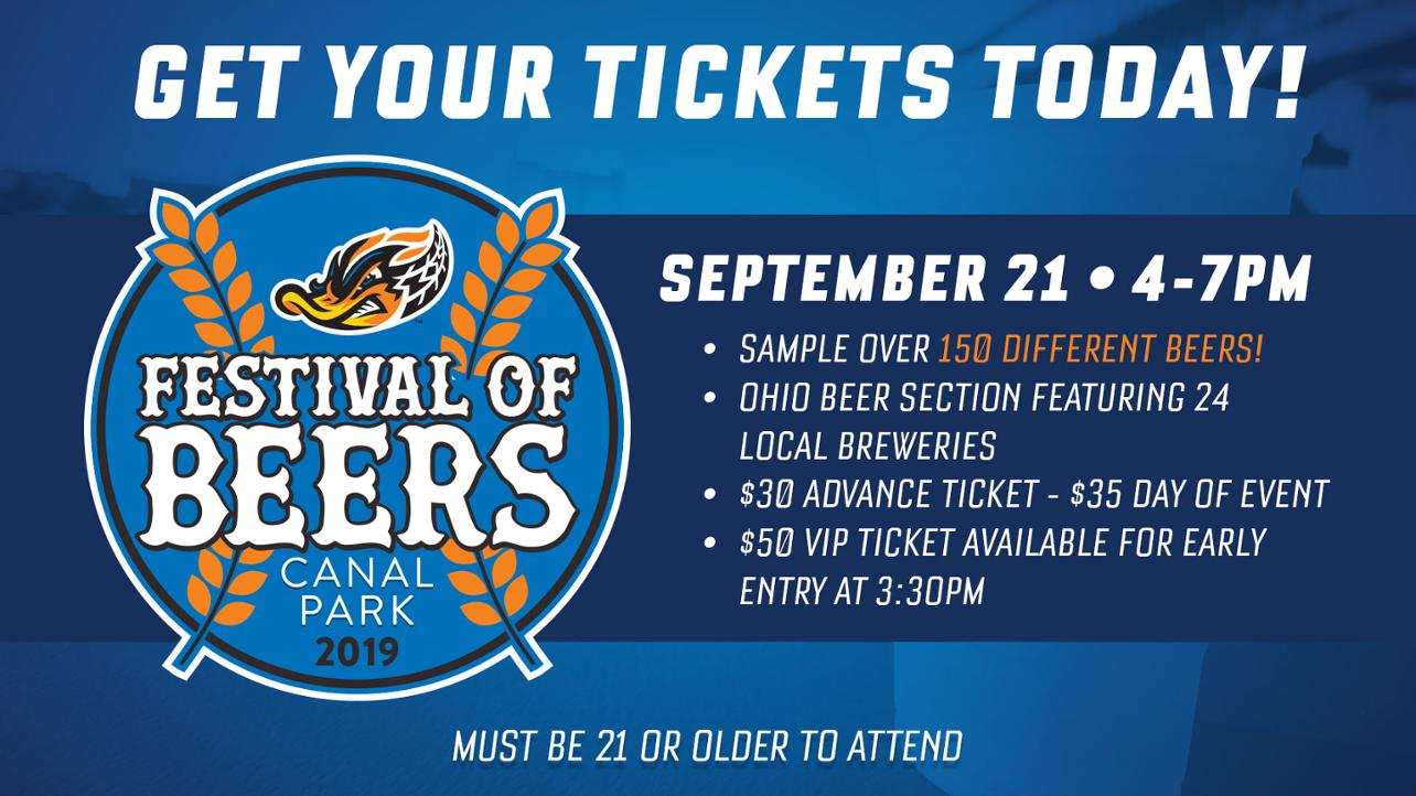 Canal Park Festival of Beers to Feature Ohio-Based Breweries