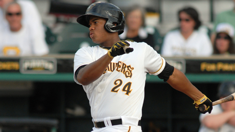 Willy Garcia is hitting .345 for Bradenton since the All-Star break.