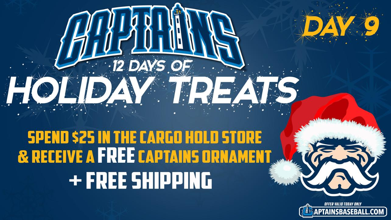 Captains 12 Days of Treats - Day 9