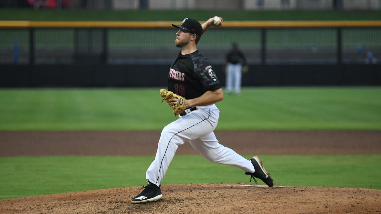 Woodpeckers Sweep Myrtle Beach at Segra Stadium