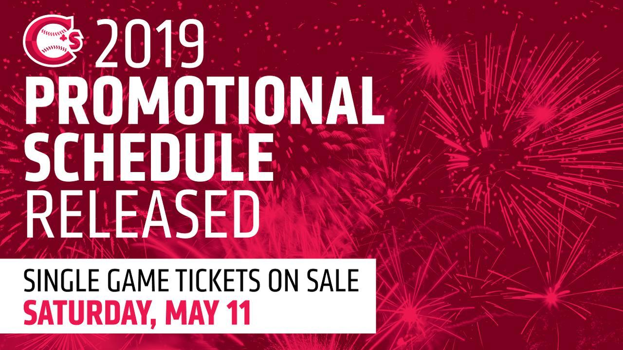 Canadians announce 2019 Promotional Schedule | Vancouver