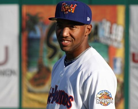 D'Arby Myers streak ended at 33 games in the RockHounds 7-1 loss to Frisco