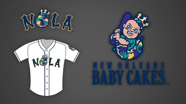New Orleans Baby Cakes Jersey
