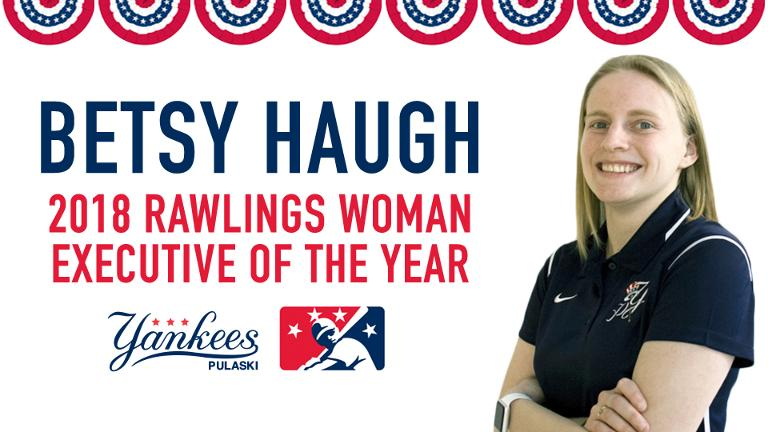Pulaski's Haugh wins 2018 Rawlings Woman Executive of the Year Award