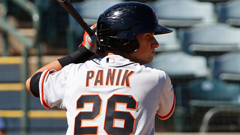 Joe Panik was the hardest Cal League player to strike out last year.