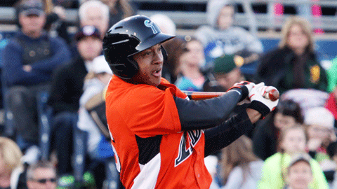 Jonathan Schoop belted his second home run of the season Thursday.
