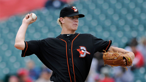 Parker Bridwell is 9-18 in three seasons with Delmarva.