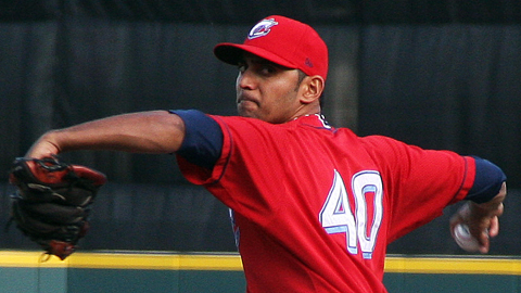 Danny Salazar has a 2.86 ERA in 20 Minor League appearances this season.