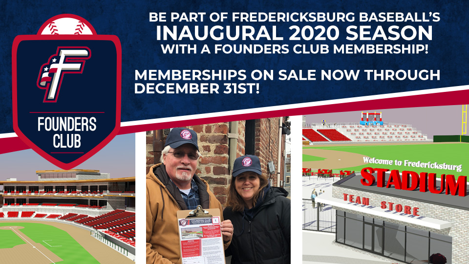 Fredericksburg Baseball Celebrates Founders Club Event Success