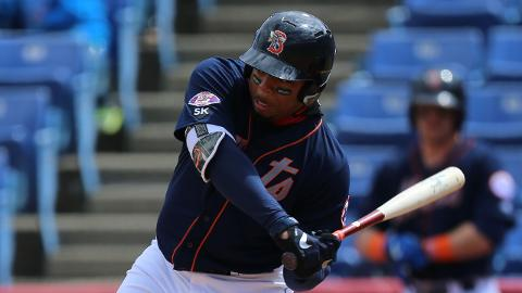 Dominic Smith set career highs with 14 homers and 91 RBIs last year with Double-A Binghamton.