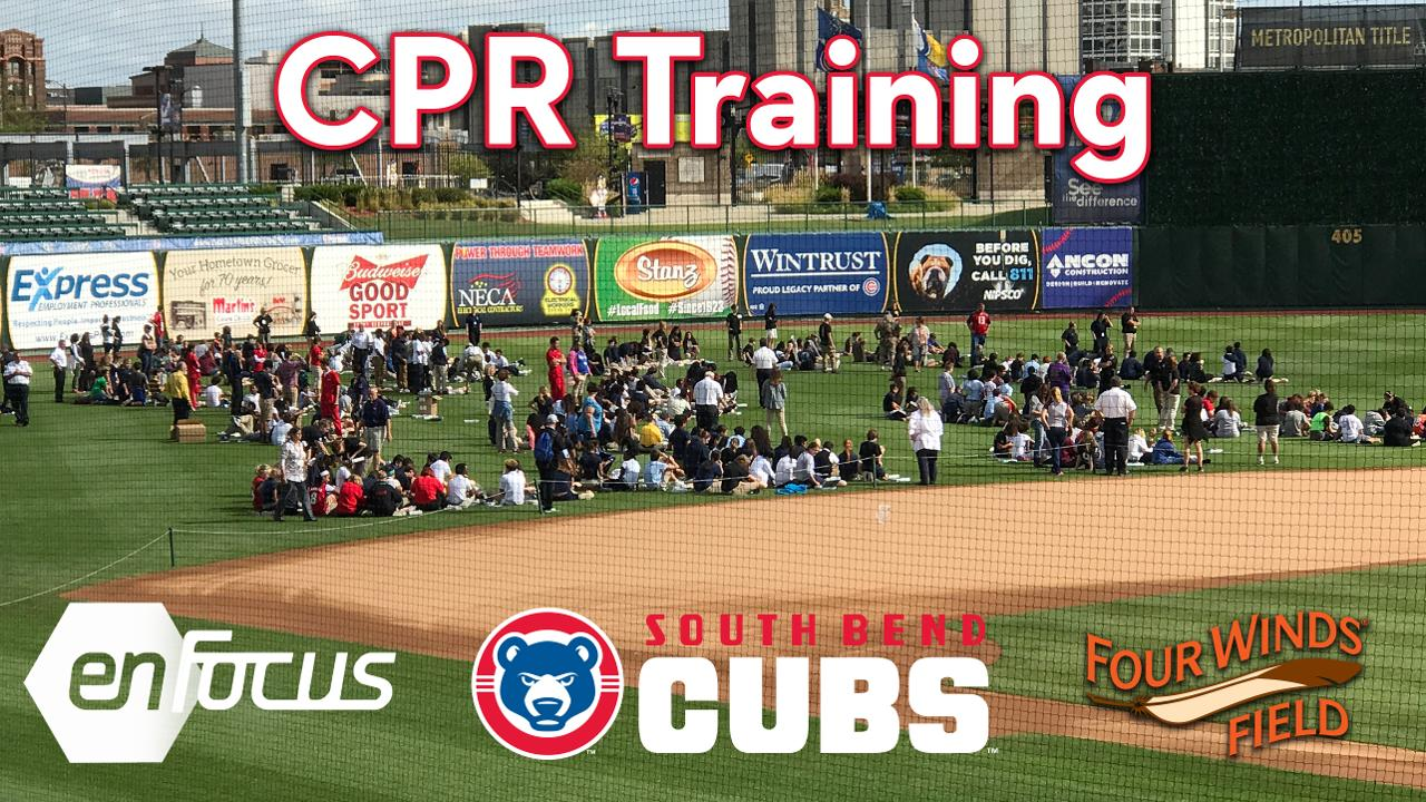 Cpr Mass Training Event At Four Winds Field September 5