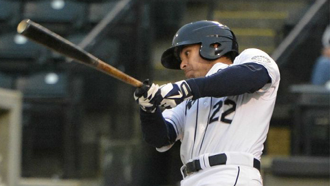 Stefen Romero has an eight-game hitting streak for Tacoma.