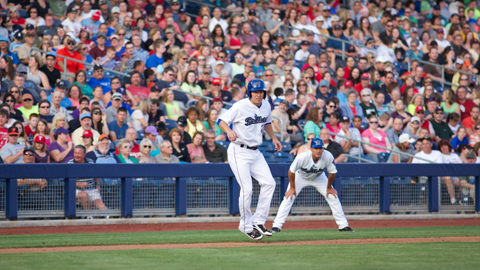 Over 400,000 fans filled ONEOK Field in 2013 to watch manager Kevin Riggs and the Tulsa Drillers.